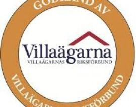 Villaägarnas riksförbund logga
